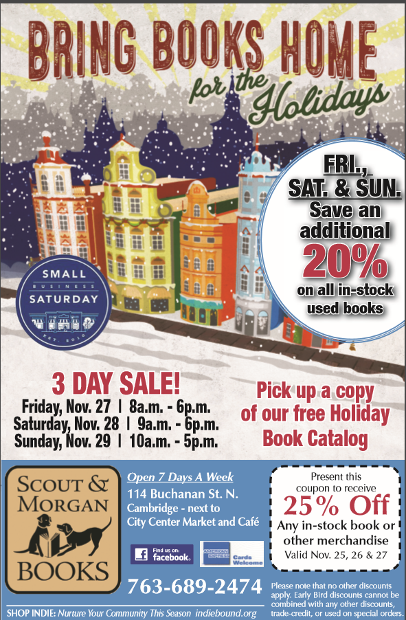 Black Friday & Small Business Saturday 3-Day Sale!